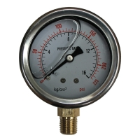 Quality Hydraulic Pressure Gauges, 15,000 psi, 1000 bar for sale