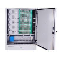 Best IP65 Cold Rolled Steel Fiber Optic Distribution Cabinet 288 Cores Distribution Connection wholesale
