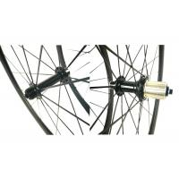 China Anti High Temperature Carbon Road Cycling Wheels9 / 10 / 11 Speed Compatible for sale