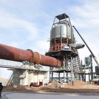 Quality Clinker Calcination Equipment Cylinder Φ4.8m Rotary Kiln Cement Plant for sale