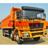 Quality 8x4 40 - 50 Tons Heavy Duty Dump Truck MAN F2000 F3000 Cabin Strong Material for sale