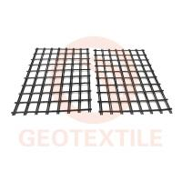Quality Low Elongation 3.95m Polyester Geogrid For Road Reinforcement Warp Knitted for sale