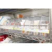 Quality Laboratories Modular Chrome Wire Storage Shelf Units and Product Handling Solutions for sale