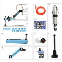 Quality Acrylic M3-M12 Pneumatic Air Tapping Machine Quick Change High Precision for sale