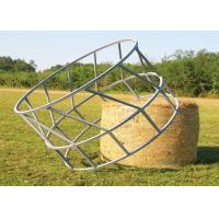 China Cattle Hay Bale Feeder With Size  1X2meter Galvanized or PVC coated 8 Feed Place on it on sale