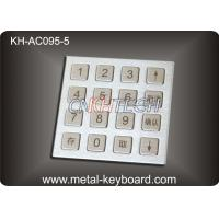 Best 4 X 4 Matrix Door Access Keypad with Rugged Stainless Steel Material wholesale