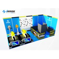 Quality Indoor Virtual Reality Theme Park 15sqm 9D VR Game Center Customize Color for sale