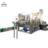 Quality 18.9L Bottle Volume Automatic Water Filling And Capping Machine 3 In 1 9000 Kg Weight for sale