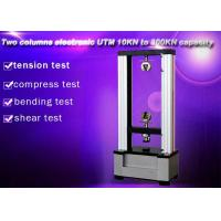 Quality Computer Control Electronic Universal Testing Machine 10KN Two Columns for sale