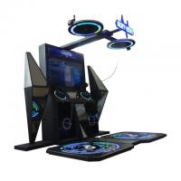 Quality Dyamtic Battle Platform 9D VR Game Machine Vibration Stage For Shopping Mall for sale