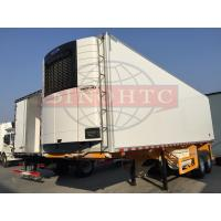 Quality Double Alxe Refrigerated Semi Trailer, 40FT Refrigerated Enclosed Cargo Trailers for sale
