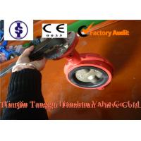Quality Wafer Double Flanged Butterfly Valve , Manual / Hydraulic / Pneumatic 3 Way Valve for sale