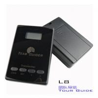 Quality cheap L8 black Tour Guide Audio System Transmitter And Receiver For Team Traveling for sale