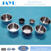 Quality Molybdenum crucible for evaporation source,high temperature with purity 99.95% size Dia 20*14*3mm for sale