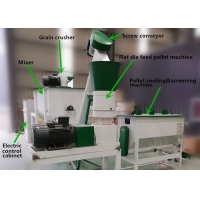 Quality Chicken 500kg/H Farm Feed Pellet Production Line for sale