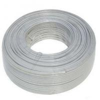 Best Four core lines, copper iron material, indoor telephone lines (round/flat type) wholesale