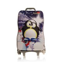 Quality Durable Cartoon Kids Hard Shell Luggage For School Aluminum Handle for sale