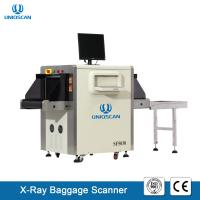 Quality X Ray Security Baggage Scanner Dual Energy 40AWG With 19 Inch LCD Color Display for sale