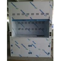 Quality Plypropylene Laboratory  fume hood Furniture equipment With sink and faucet for sale