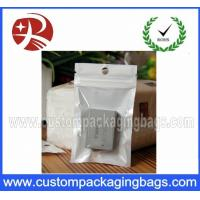 Quality Ziplock Plastic Hanger Bags for Battery , Recycled  plastic bag hanger for sale