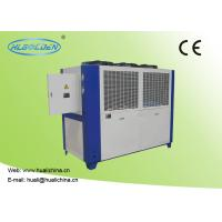 Quality R22 Refrigerant Industrial Water Cooled Chillers With Overload Current Protection for sale