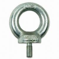 Quality DIN Eye Screw, Made of Carbon Steel Material, with Zinc-plated Finish for sale