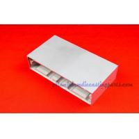 China Silver Anodize Custom Extruded Aluminum Enclosures For Electrical Control on sale