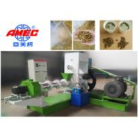 Quality 380v / 220v Fish Feed Extruder Floating Feed Machine 1000kg/H Stable Operation for sale