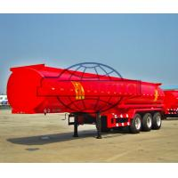 Quality 50m3 Diesel Tank Semi Trailer Fitted Vapor Recovery 5 / More Compartment for sale