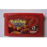 Quality Pokemon Shiny Gold Version GBA Game Game Boy Advance Game Free Shipping for sale