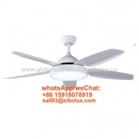 Buy cheap 42inch 50 inch electric Industrial remote ceiling fan with LED light/cooling air from wholesalers