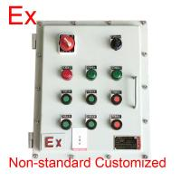 Quality Chemical Industry Explosion Proof Distribution Box , Low Voltage Flame Proof Panel for sale