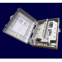 48 Core Plastic  Wall Mounted Distribution Box  420*320*125mm Fiber Optic Box