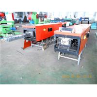 Quality Metal Gutter Roll Forming Machine 110 volt Or 220 volt, 0.3 - 0.7mm Thickness Manual Model Cutting for sale