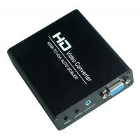 Quality HDMI to VGA Scaler Converter Box for sale