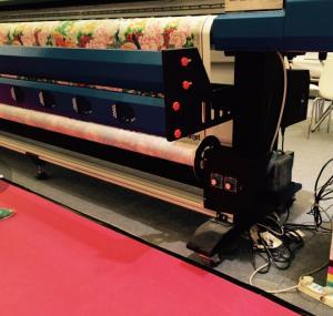 Quality 3.2M A-Starjet 7703L Soft PVC Ceiling Film Eco Solvent Printer with 3 pcs DX7 Head for sale