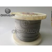 Quality NiCr 2080 Heating Stranded Resistance Wire NiCr A Nichrome Alloy for sale