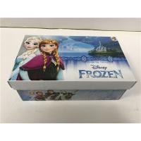 Quality Foam Inside Colored Shoe Boxes , Decorative Shoe Boxes For Girls Shoes CMYK for sale