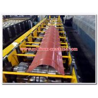 Quality Round Profiled Aluminium & Steel Roof Ridge Capping Sheet Cold Roll Forming Machine for sale