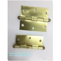 Quality High End Ball Tip Cabinet Hinges Precise Cut Residential High Security Round Type for sale