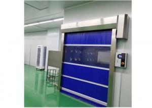 Quality Clean Room Entrance Air Shower Tunnel With Fast Rolling Door Auto Open for sale