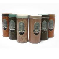 Quality Custom vintage tin coffee canister for sale