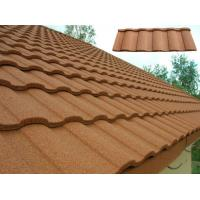 Quality Customized Heatproof / Sound Insulation Stone Coated Roofing Sheet for sale