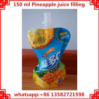 Quality 150ml pineapple packing machine, plastic bag filling capping machine for sale
