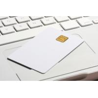 Best standard 0.76MM white PVC Loyalty cards with RFID smart chip contacted wholesale