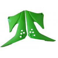 Quality Motorcycles plastic parts,Kawasaki KLX125 fuel tank guard  green(colour) for sale