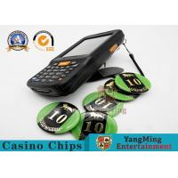 Quality High Frequency 13.56MHz RFID Casino Chips Handheld Asset Tracking Handheld Terminal for sale