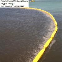 Quality PVC Floating Oil Boom For Containing Oil Spill for sale