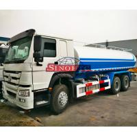 Quality HOWO 6x4 Water Bowser Truck, 10 Wheels 20000 Liters Water Container Truck for sale