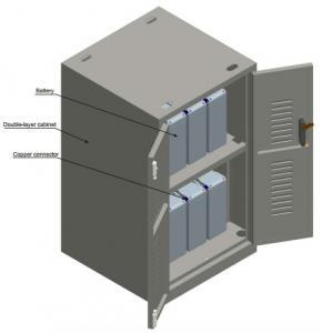 Quality Large Capacity Custom Metal Shelving , Indoor Metal Battery Storage Shelves Cabinet for sale